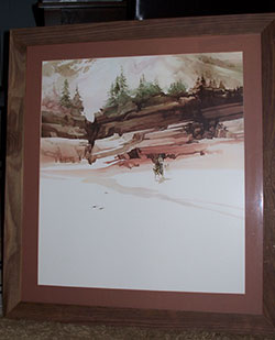 Art Picture Framing by TurnKey Art Solutions: Spring Thaw - by Michael Atkinson