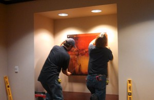 Corporate Art Installation - Part of our Start-to-finish Service