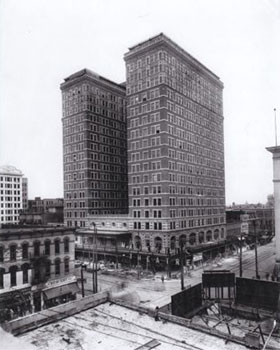 Rice Hotel Circa 1930 - Houston, Texas