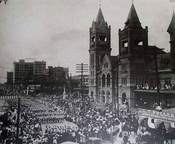 Houston Texas City Hall - 1900