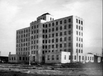 Jefferson Davis Hospital 1938 - Houston, Texas