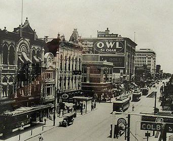 Main Street 1910 - Houston, Texas